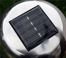 Sobre iluminación LED Solar
