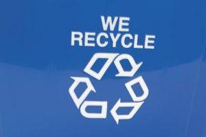 Hermosa casa estaciones de reciclaje