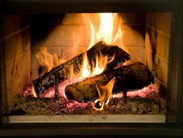 Cómo construir un fogón para una chimenea