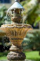 Características del agua al aire libre pequeño bricolaje