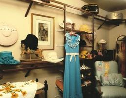 Cómo coser los organizadores del armario