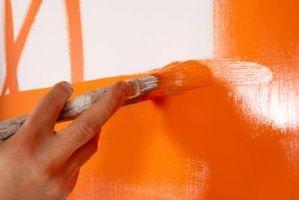 Técnica de pintura decorativa