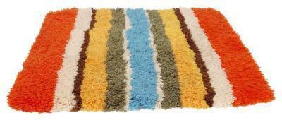 Cómo hacer una alfombra de tela rasgada