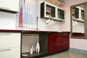 Ideas para una cocina piso tablero