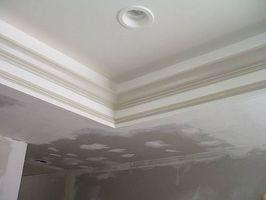 Cómo pintar un techo de Trey