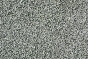 Cómo crear textura de la roca en concreto