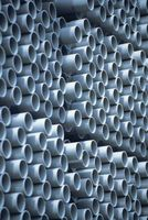 ¿Cuál es la pipa del PVC gris?