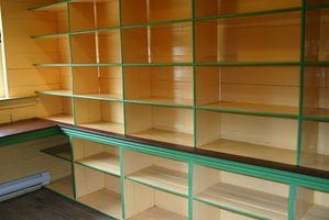 ¿Cómo hacer tienda de armarios de estanterías tableros?