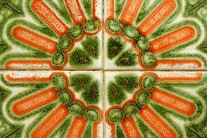 Interesantes Ideas de azulejos de cerámica artística