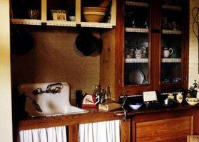 Colores de la cocina de los años 30, años 40 y años 50