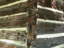 Técnicas de construcción de casa de troncos