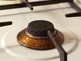 Cómo solucionar un Chip en una estufa de cerámica