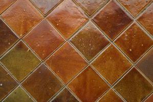 ¿Se puede Reglazed el azulejo de piso?