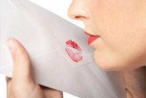Cómo hacer una carta plegable Jig