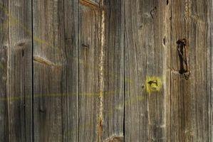 Como construir puertas de granja/establo estilo de país