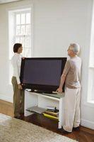 ¿Qué puedo poner debajo de un soporte de la TV por lo que se no dañar un piso de madera?