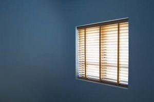 Ideas de cortina para las paredes de azules y Tan