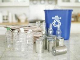 Formas creativas para almacenar contenedores de reciclaje en la cocina