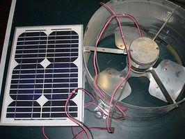 Cómo instalar un ventilador Solar en tu garaje