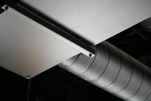 Cómo hacer plafones para ocultar el conducto