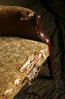 ¿Cómo recuperar asientos de silla antigua