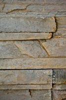 Usos interiores de los paneles de pared y piedra sintética