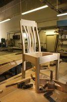 Tapicería de bricolaje con madera contrachapada para el cojín de asiento