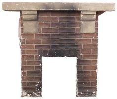 Cómo cerrar la ladrillos de chimenea con yeso