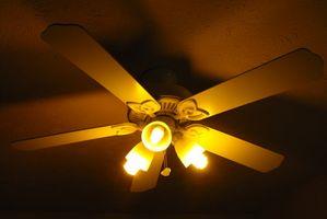 Cómo instalar un ventilador Hampton Bay