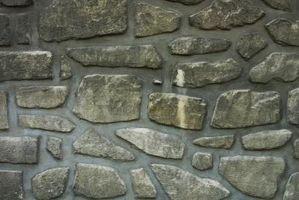 Cómo hacer imitación piedra en paredes de yeso