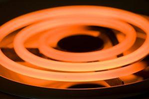Consumo de energía de las gamas eléctricas