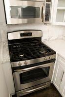 Distancia entre una gama y un microondas en la cocina