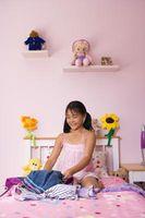 Cómo decorar un sótano como dormitorio de una niña