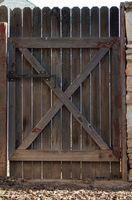 Cómo instalar puertas de valla