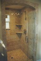 Cómo instalar una ducha de baño de granito