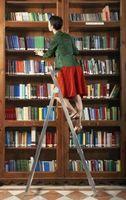 Cómo construir una estantería escalera inclinada