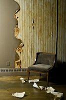 Formas de acabado de papel pintado en las paredes