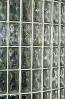 Cómo utilizar el bloque de cristal con sellador de silicona