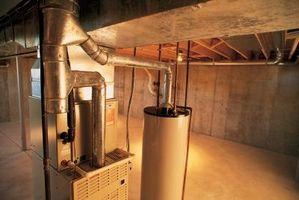 Requisitos de espacio para una una tonelada de agua bomba de calor de la fuente