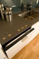 ¿Se puede colocar una encimera de granito en la parte superior de un lavavajillas?