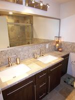 Ideas de diseño cuarto de baño de pizarra
