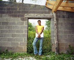 ¿Cómo marco en bloques de puerta Exterior