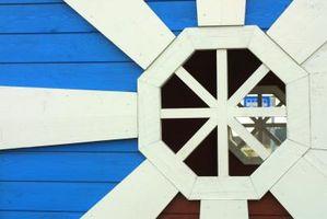 Cómo medir una ventana octagonal