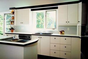¿Qué hacer con los gabinetes de cocina blancos?