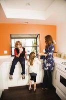 ¿Cómo convertir una sala de lavandería a una cocina