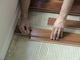Cómo cortar pisos de madera