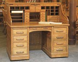 Cómo determinar la edad de un antiguo escritorio