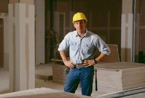 Cómo hacer cubos de exhibición Drywall