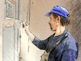 Consejos de pintura para el techo blanco y paredes oscuras