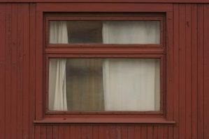 ¿Qué colores de cortinas para las paredes de color marrón?